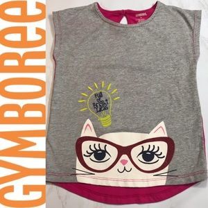 Gymboree Sleeveless Top with Cat BUNDLE & SAVE!